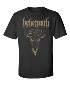 Behemoth black rock band t-shirt