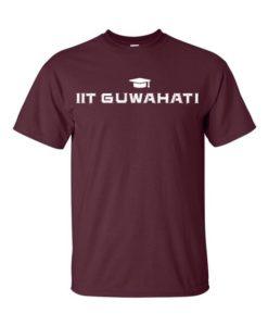 IIT Guwahati Mens T-Shirt Maroon