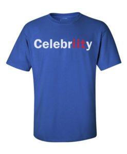 Celebriity IIT Mens T-Shirts Royal Blue
