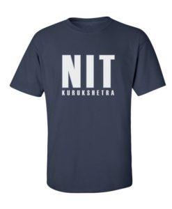NIT Kurukshetra Mens T-Shirt Navy Blue
