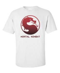 Mortal Kombat Mens T-Shirt White