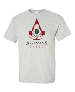 Assassins Creed Mens T-Shirt Gray