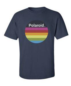 Polaroid Colors T-Shirt Navy Blue