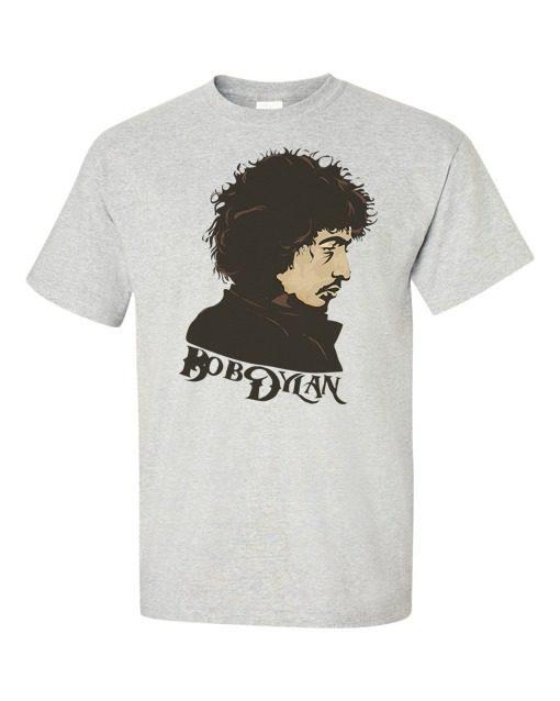 Bob Dylan T-Shirt Gray