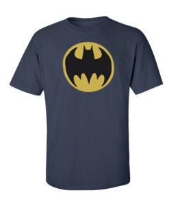 Batman Logo T-Shirt Navy Blue