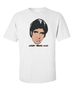 Angry Young Man T-Shirt White