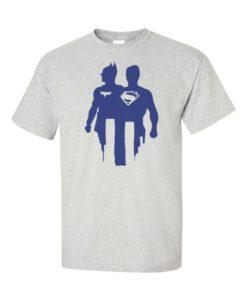 Batman V Superman Silhoutte Gray