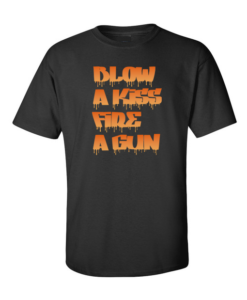 Funky Blow a Kiss Black