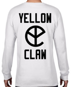 yellow claw t shirt