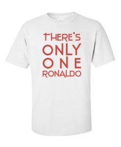 Football Only One Ronaldo White