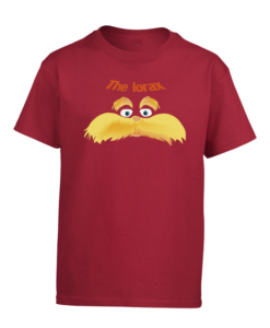 Lorax Kids Cherry Red