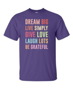 Dream Big Purple