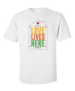 Love Lives Here White