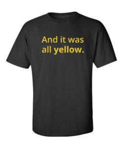 coldplay yellow black