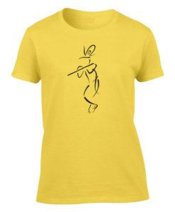 lord krishna yellow