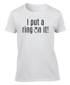 Put a ring White W