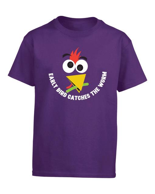 early bird purple