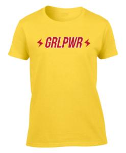 grl pwr yellow