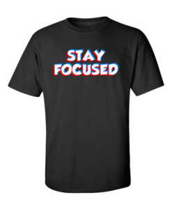 stay focused black