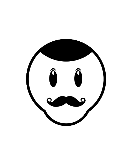 mustache face product