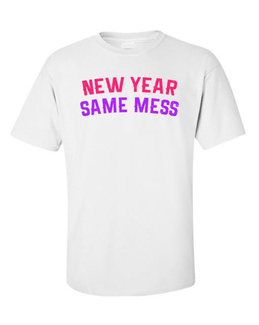 new year white