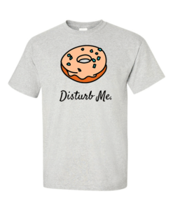 donut disturb gray
