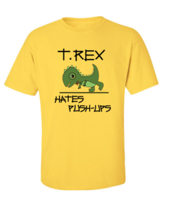 t rex yellow