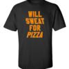 sweat pizza black